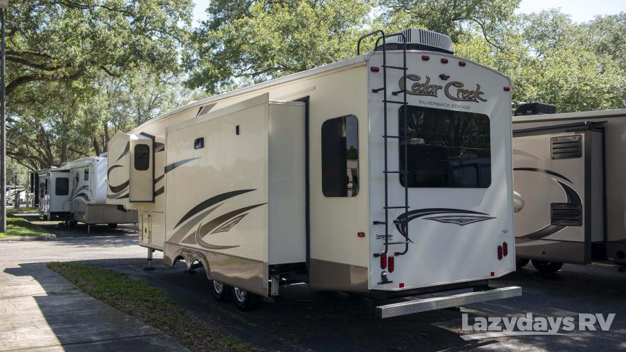 2017 Forest River Cedar Creek Silverback 33FK