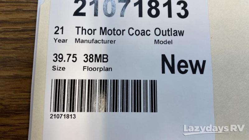2021 Thor Motor Coach Outlaw