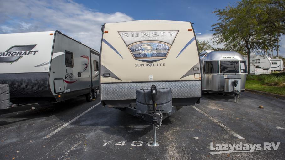 2015 Crossroads RV Sunset Trail TT 220RB