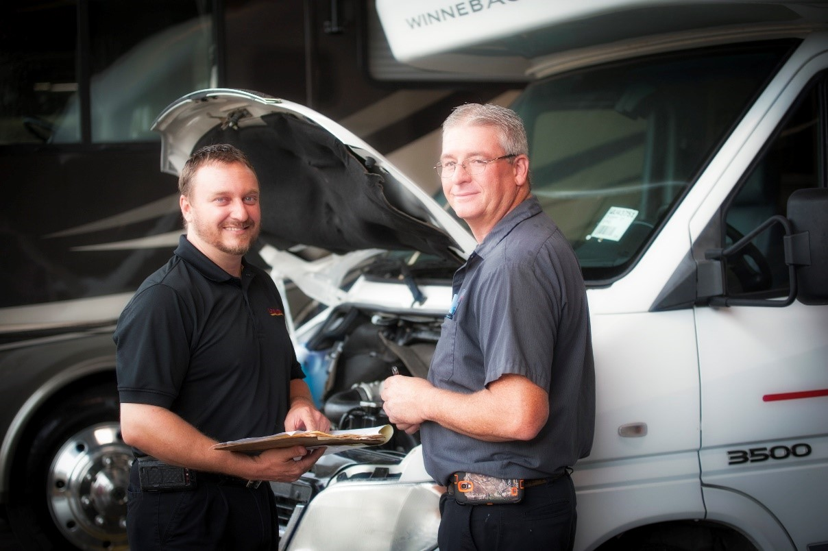 Expert RV technicians at Lazydays RV