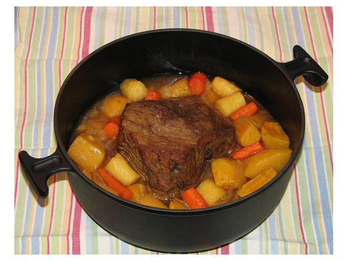 Convection pot roast