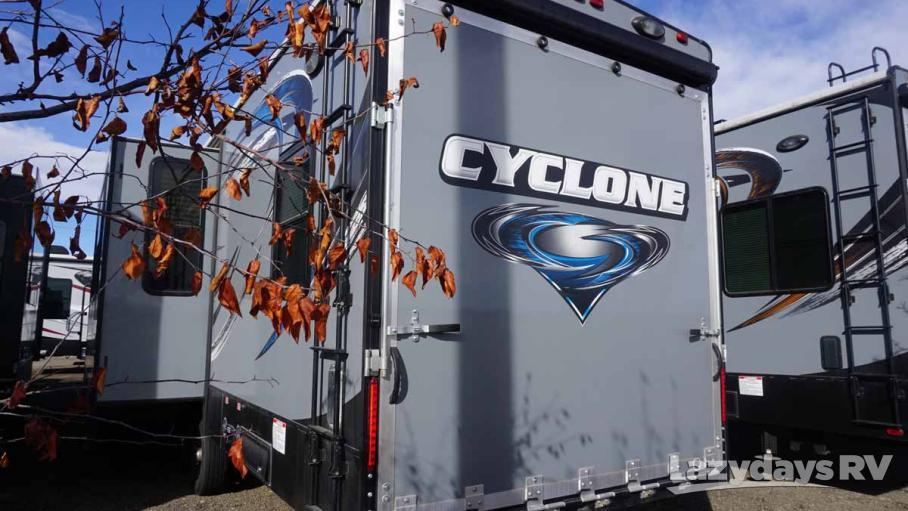 2015 Heartland Cyclone 3110