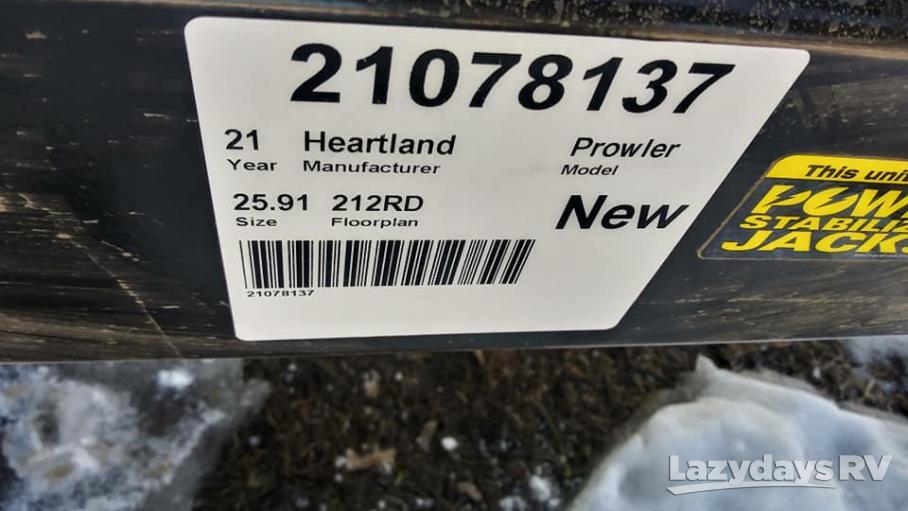 2021 Heartland Prowler