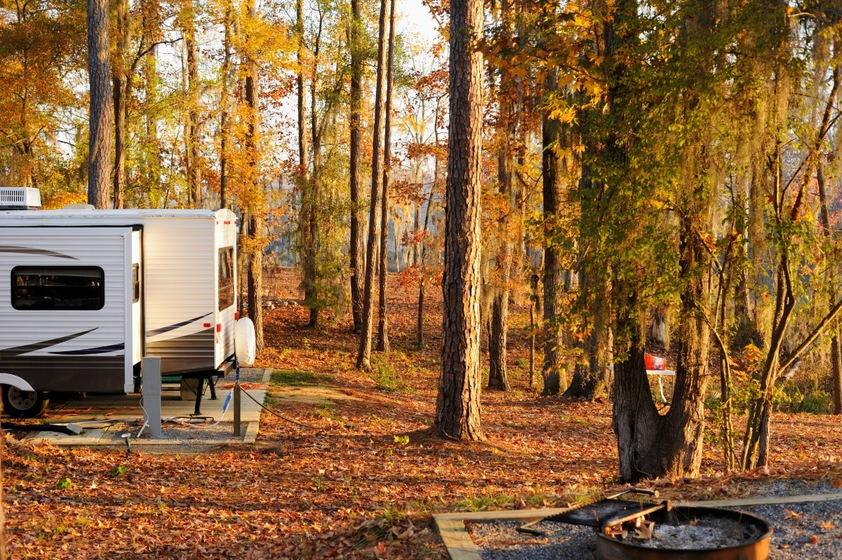 Check out these fall RV travel tips from the RV experts at Lazydays RV!