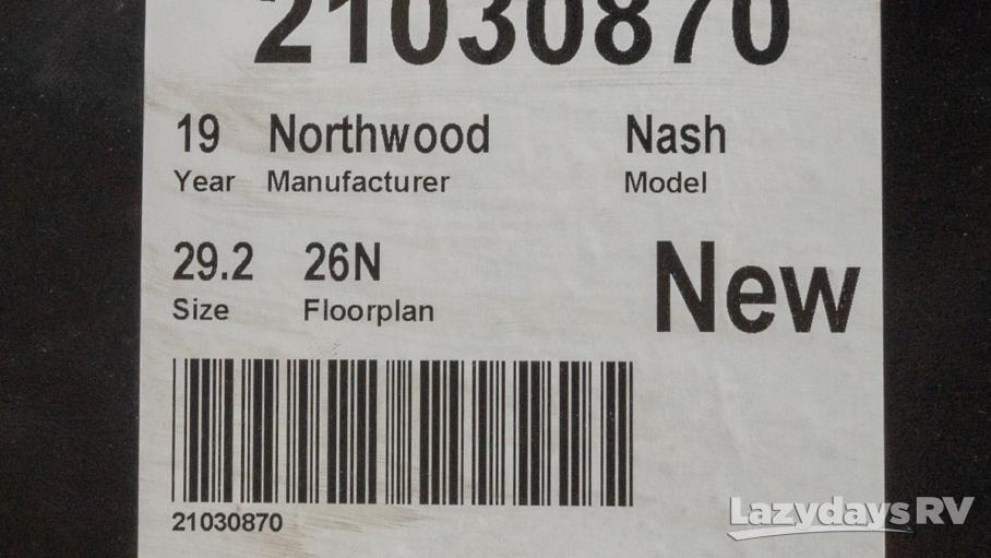2019 Northwood Nash 26N