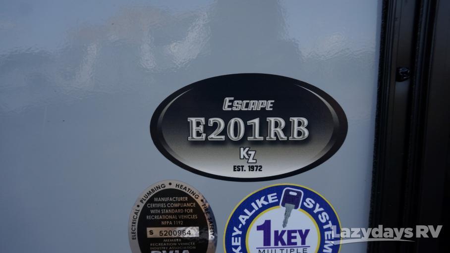 2019 KZ Spree Escape  E201RB