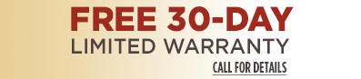 Small Limited Warranty Banner