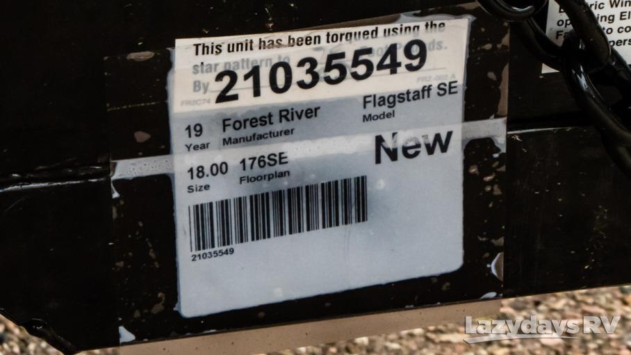 2019 Forest River Flagstaff SE 176SE